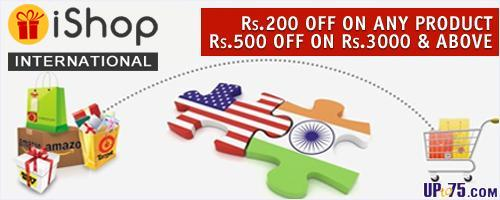 iShopinternational offers India