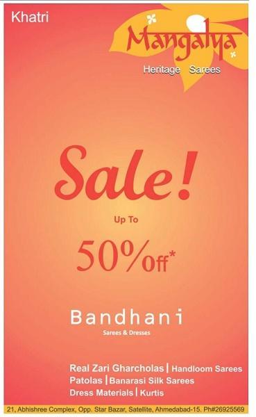Bandhani offers India