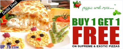 Pizzas and More offers India