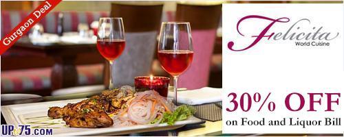 Felicita Restaurant offers India