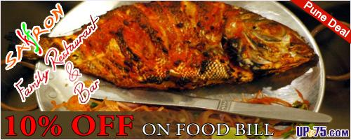 Saffron Seafood offers India