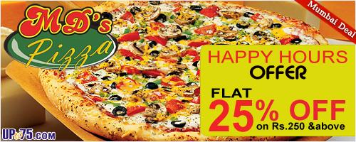 MD's Pizza offers India