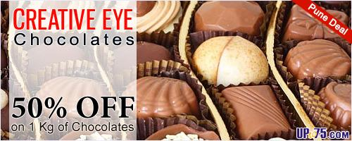 Creative Eye Chocolates offers India