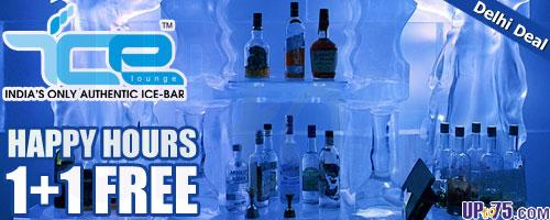 Ice Lounge offers India