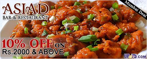 Asiad Bar N Restaurant offers India
