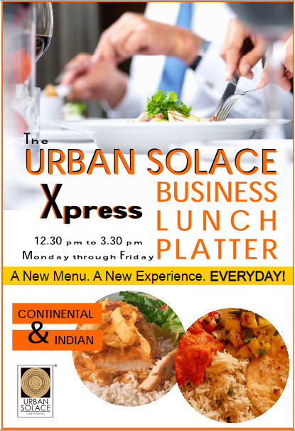 Urban Solace Cafe For the Soul offers India