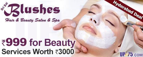 Blushes Hair and Beauty Salon offers India