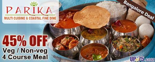 Parika Multi-Cuisine and Coastal Fine Dine offers India