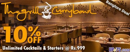 The Grill and Curry Bowl offers India