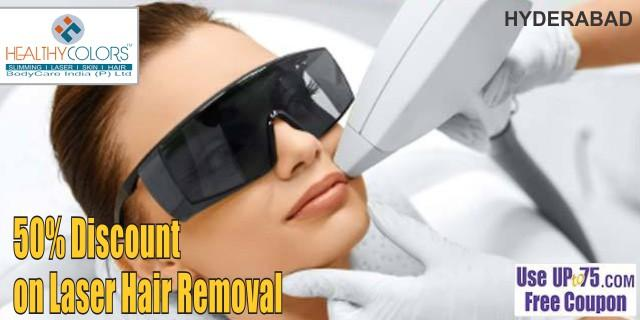Healthy Colors Secunderabad Laser Hair Removal Deals Discounts 2020