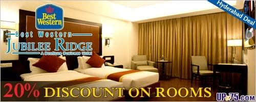 Best Western Jubilee Ridge offers India