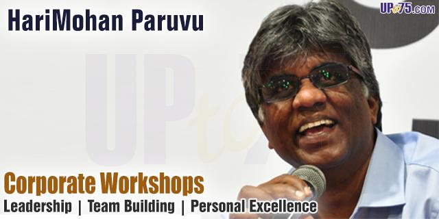 Workshops by Harimohan Paruvu offers India
