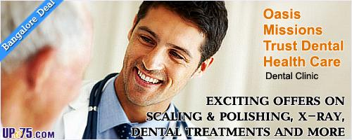 Oasis Missions Trust Dental Health Care offers India