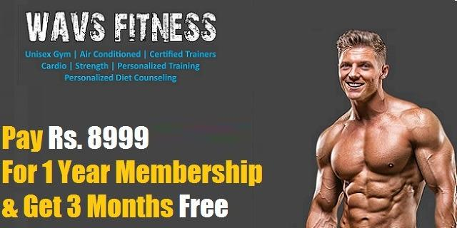 Wavs Fitness offers India