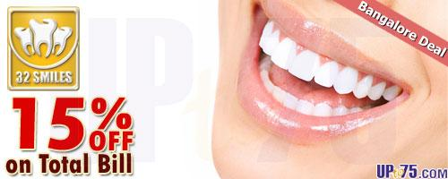 32 Smiles Dental Clinic offers India