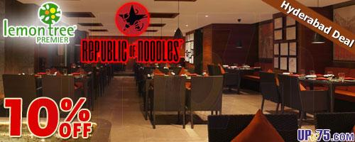 Republic of Noodles offers India