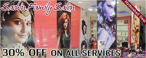 Sachin Family Salon offers India