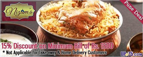 Nizams offers India