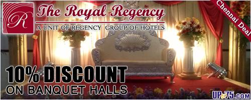 The Royal Regency offers India