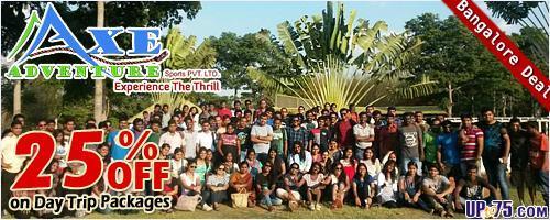 Axe Adventure offers India