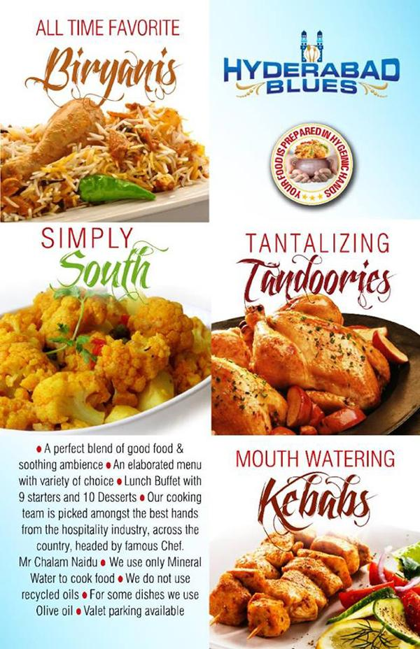 Hyderabad Blues offers India
