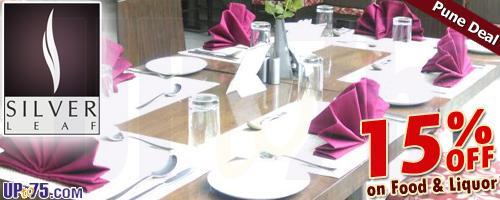 Silver Leaf Resto Bar offers India