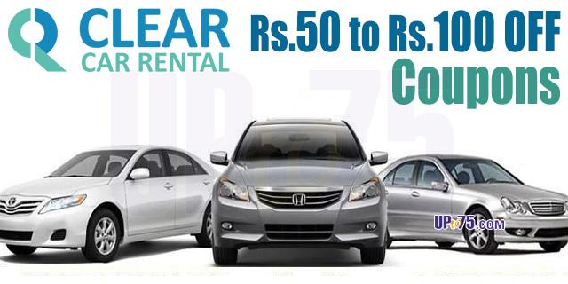 Clear Car Rental offers India