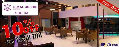 Atrium Bar offers India