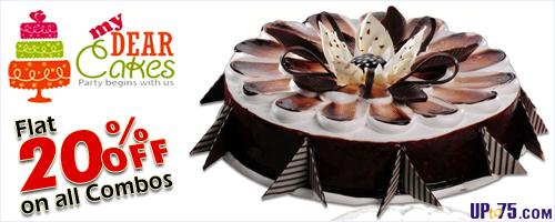 MyDearCakes offers India