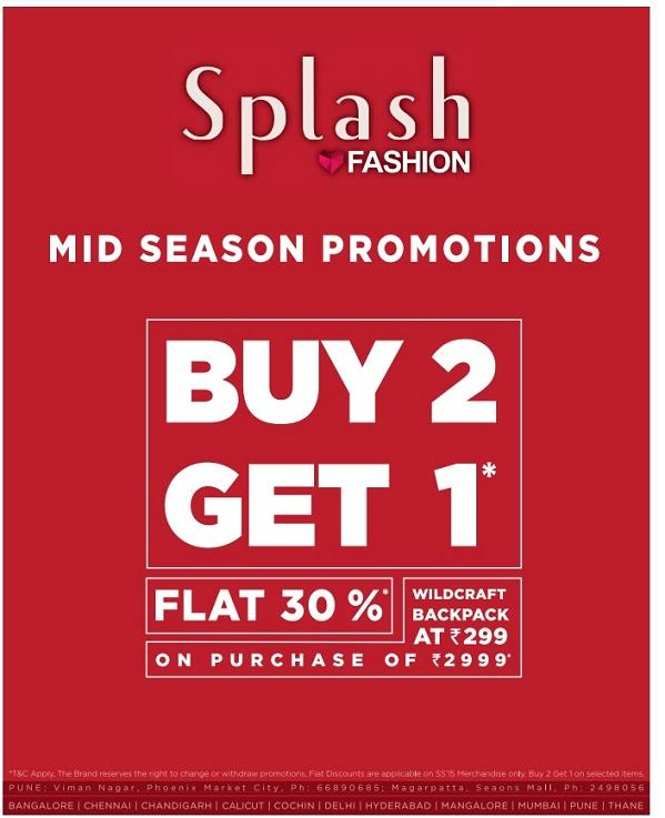 Splash offers India