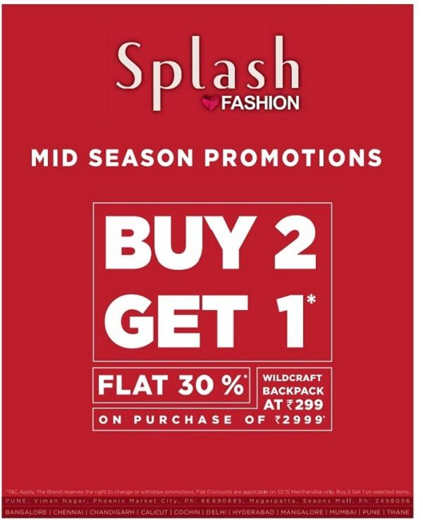 Splash offers India