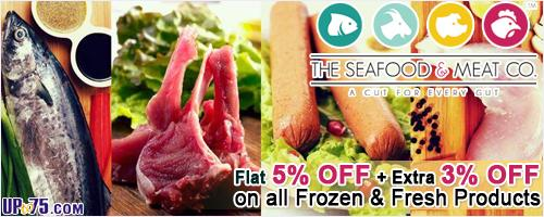The Seafood and Meat Co offers India