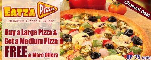 Eatza Pizza offers India