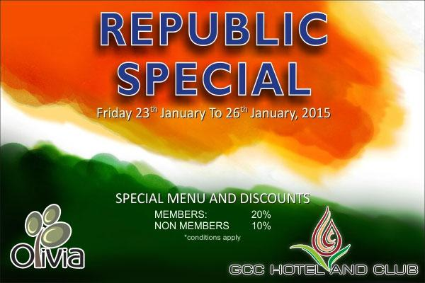 Olivia Restaurant offers India