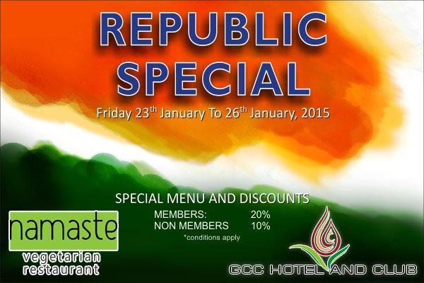 Namaste Restaurant offers India
