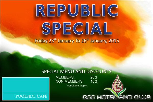 Pool Side Cafe offers India