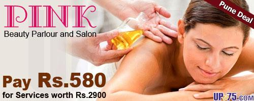 Pink Beauty Parlour and Salon offers India
