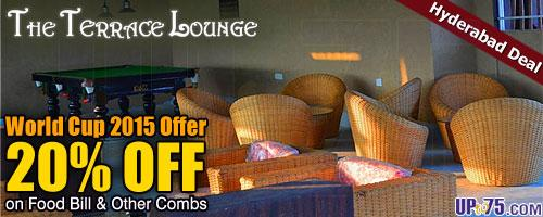 The Terrace Lounge offers India
