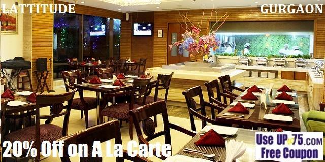 Lattitude at Skycity Hotel offers India