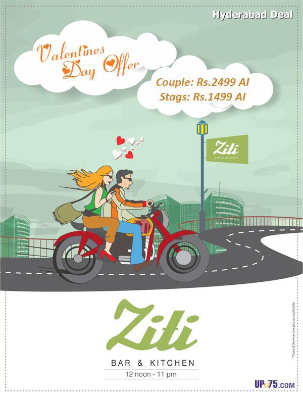Ziti Bar & Kitchen offers India