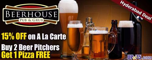 Beer House offers India