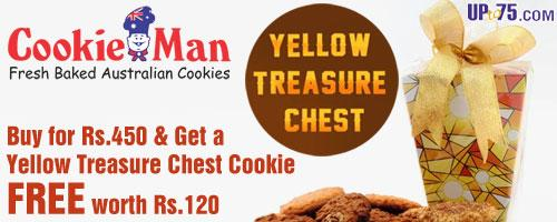 Cookie Man offers India