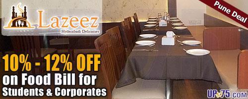 Lazeez by Hyderabadi Delicacies offers India