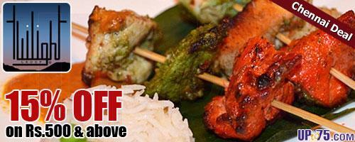 Twilight Fine Dine Restaurant offers India