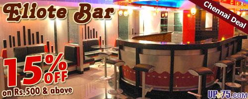 Eliote Bar offers India