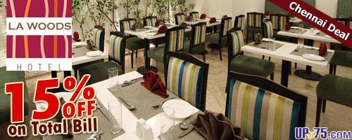 La Woods Restaurant offers India