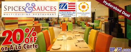 Spices and Sauces offers India