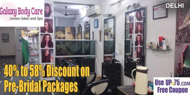 Galaxy Body Care Unisex Salon offers India