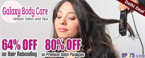 Galaxy Body Care Unisex Salon offers India