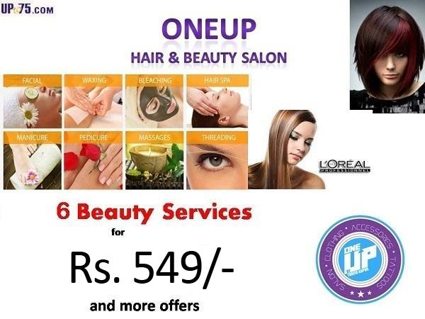 One Up Hair Salon and Tattoo Studio offers India